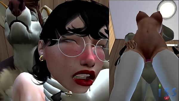 Reluctant Love Affair at Ruffly Retail - The Sims 4 Porn