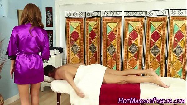 Hot jizz mouthed masseuse Thumb