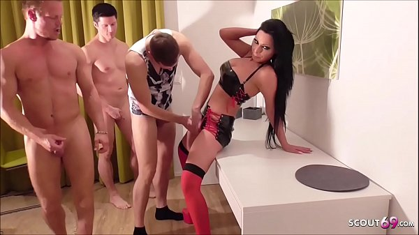 ANAL DP ORGY WITH GERMAN GREEN EYES MILF JACK I...