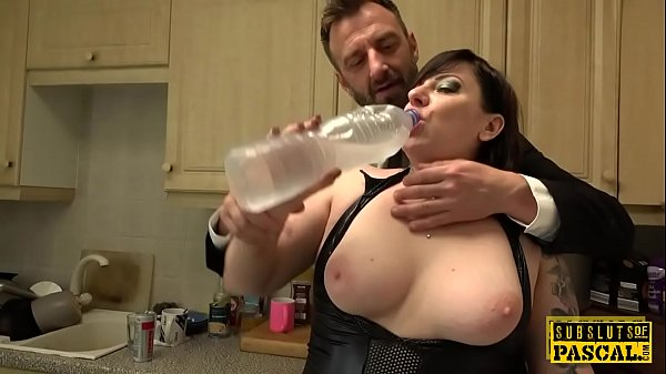 Chubby uk pisser facefucked into submission Thumb