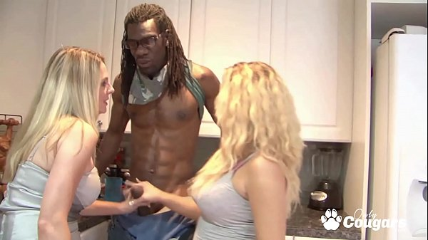 Scarlett Wild and Britney Young Let A Black Man Cum All Over Them