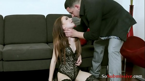 Strictly sexual- Dad and submissive daughter