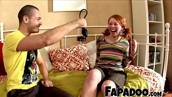 Experimented Guy Teaching About Toys To Curious Redhead Thumb