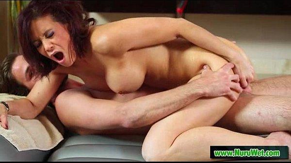 Busty japanese masseuse gives oilde massage 25