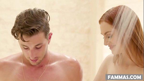 My Sister-in-law massaging me! - Maya Kendrick - Family Sex Massage