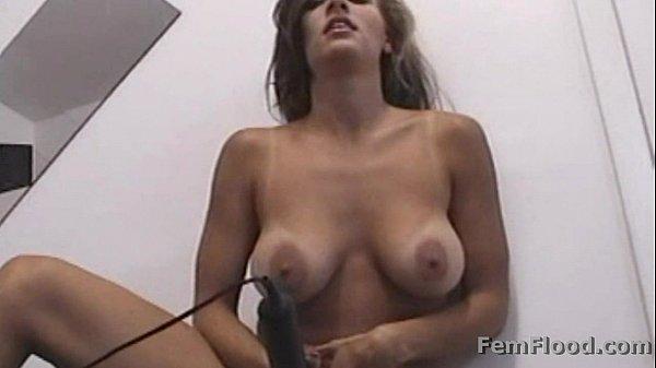 Masturbating to Pulsing Squirting Orgasms Standing Up