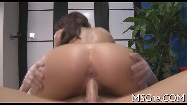 Big ramrod enters tight pussy aperture