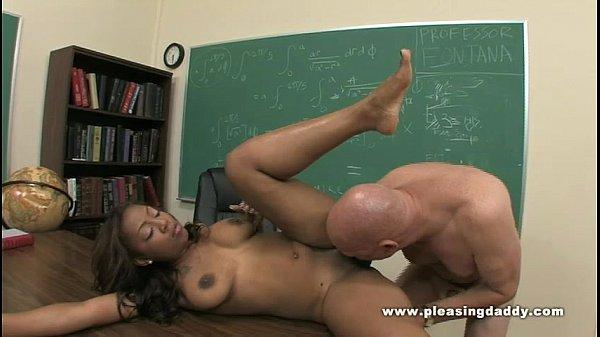 Ebony Slut Kandi kream Fuck Her Old Teacher