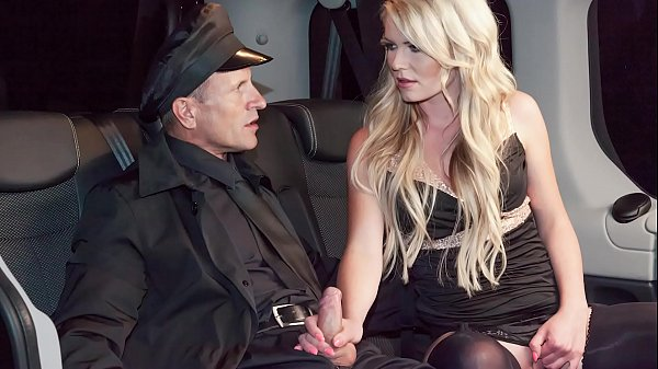 VIP SEX VAULT - Czech blonde Claudia Macc gets banged in hot car sex Thumb