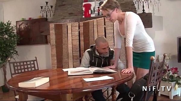 French teacher milf hard sodomized by her stude...