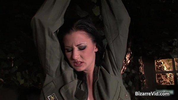 Two hot sexy horny army slut gets Thumb