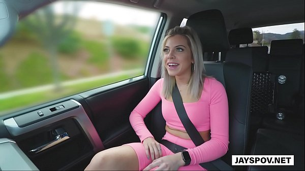JAY'S POV - Horny Blonde Teen Newcomer Allie Nicole Breaks Into Porn