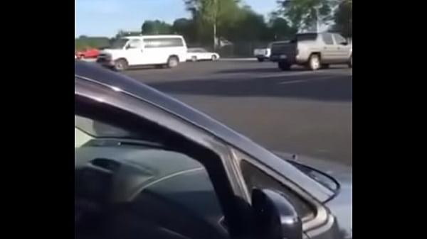 Public blowjob