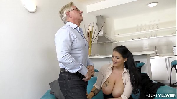 Busty lovers can't wait to see Anissa Jolie rid...