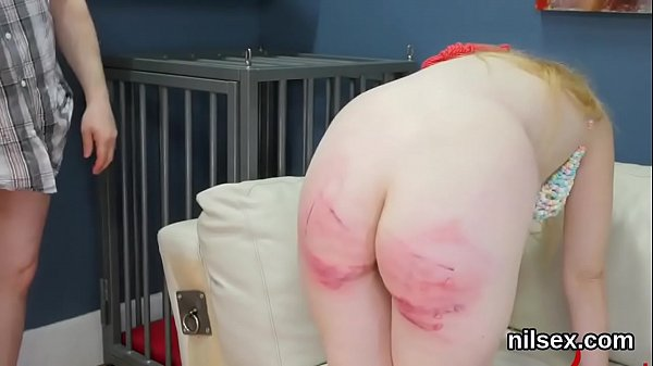 Naughty cutie was brought in anus assylum for harsh therapy Thumb