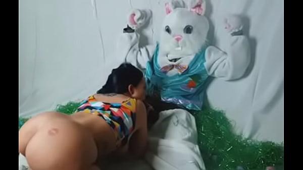 Easter Bunny BlowJob