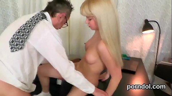 Fervid schoolgirl was seduced and plowed by her older teacher