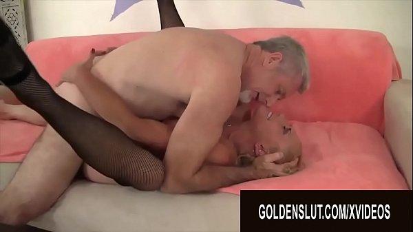 Golden Slut - Pounding Older Pussies Compilation Part 11 Thumb