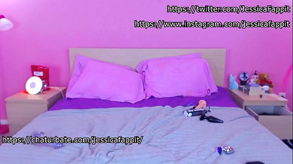 Young Webcam Trans Slut TS Jessica Fappit Dance With Buttplug In  thumbnail