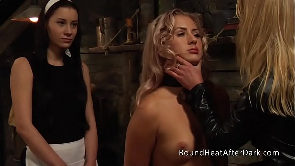 Young New Lesbian Girl Submitted And Trained By Madame To Be Faithful Slave