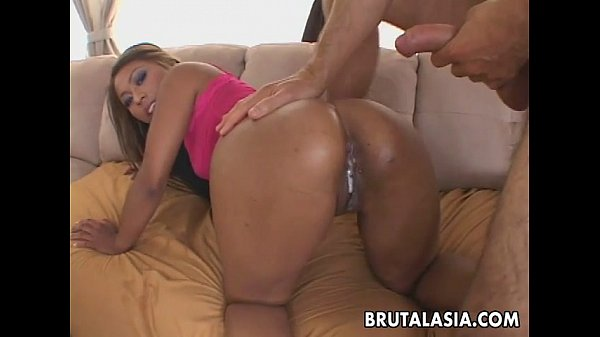 Tanned Asian whore gives her most prescious holes away Thumb