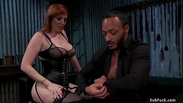 Huge tits femdom anal bangs black man