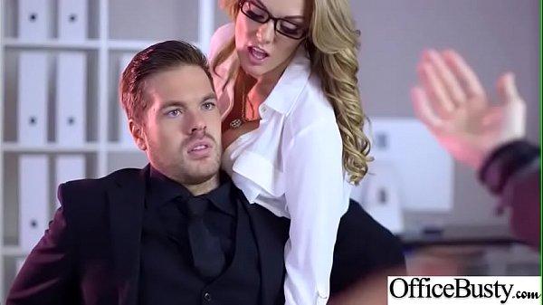 Busty Office Girl (Stacey Saran) Enjoy Hardcore Sex Scene video-28