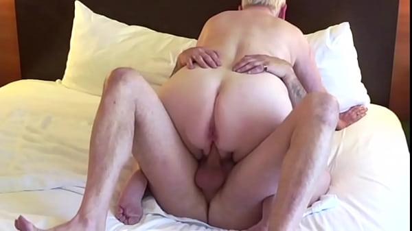 Mature amateur milf fucks cowgirl style