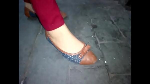 Nice feet in flats