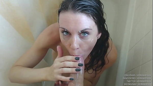 Caught You In The Shower Now Cum On My Face