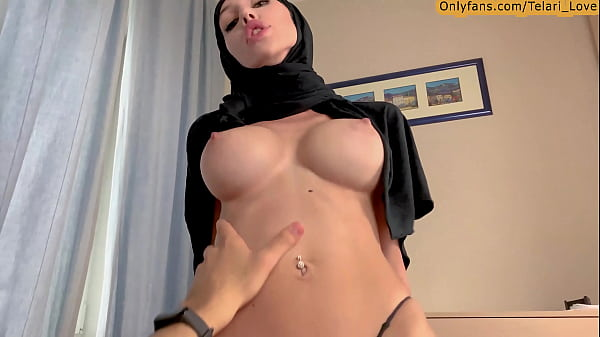 Big tits muslim babe get fucked in tight pussy