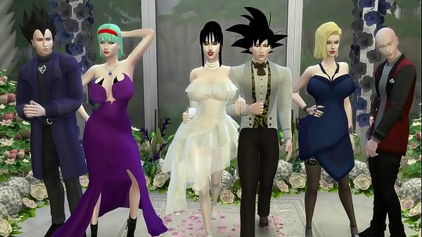 El Matrimonio de Milk Episodio 1 La Boda de Goku y su Esposa Chichi muy romantico pero Termina en Netorare Esposa Follada como una Perra Marido Cornudo Dragon Ball Porn Hentai