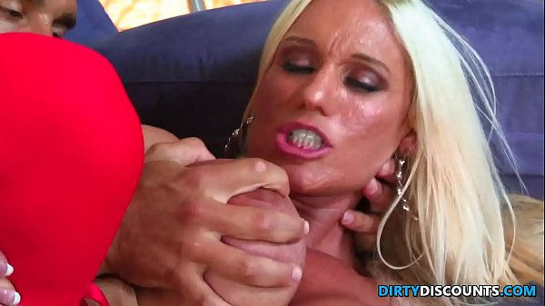 Busty milf with big clit