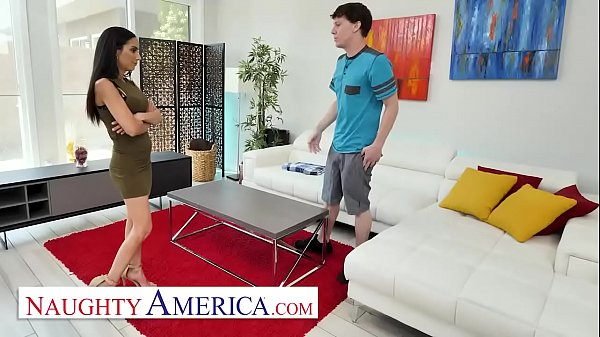 Naughty America - Recently divorced MILF, Tia Cyrus, hooks up with son's friend when he stops by her house