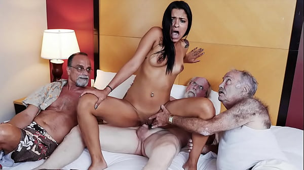 BLUE PILL MEN - Old Men Have Themselves A Staycation With Latin Babe Nikki Kay