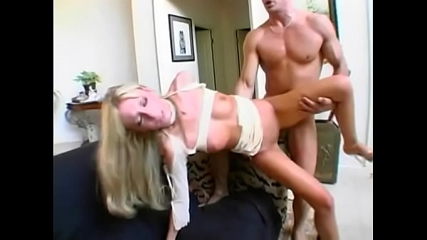 Big butt blonde Keri Sable bounces on huge cock poolside and gets cum on her face