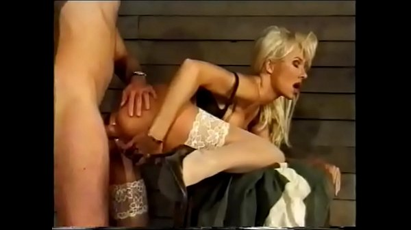 Super Hot Blonde Beauty Helen Duval Anal Fucked in Garage, Route 69