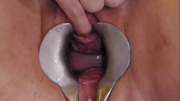 Analslut - James playing with her urethra - pee, sounds, stretching - Gaping pussy