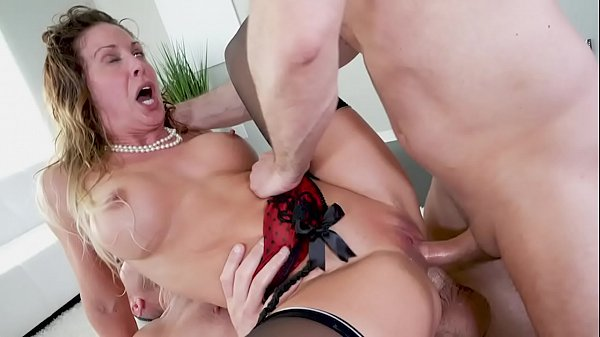 Cherie Deville Getting Her MILF Pussy & Anus Plugged (Double Penetration!)