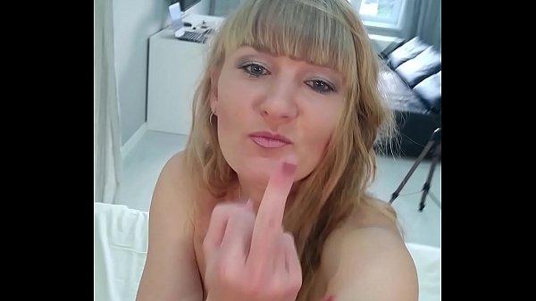 Selfie video Femdom Facesitting Squirt. r. ex-friend from Russian Milf