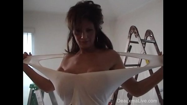 Deauxma gives hubby blow job and then gets fuck...