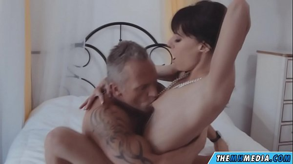 a romance with a hot milf with small tits