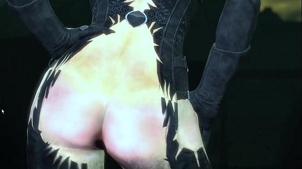 "Batman Arkham City ""Catwoman Nude"""