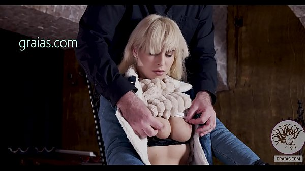 Big tits girl in introduced to BDSM