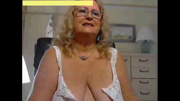 Mature Blonde Huge Tits
