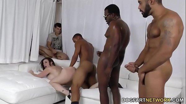 Sara Jay Interracial Threesome