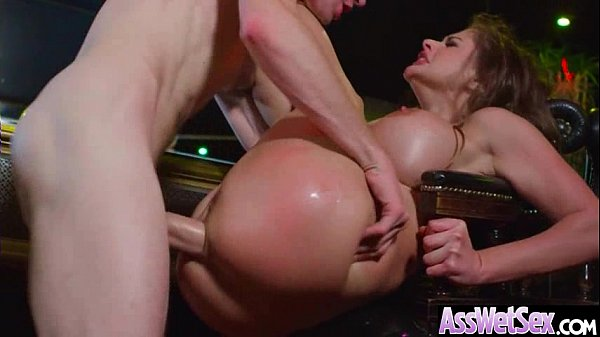 (Cathy Heaven) Big Round Oiled Ass Girl Love Hard Anal Intercorse video-15