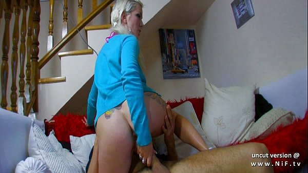 Amateur Tattooed french whore with big butt har...