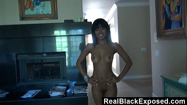 Naughty Black Teen's Surprise