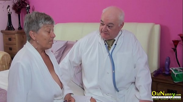 OldNannY Three Matures using Toys on Sexclinic Thumb